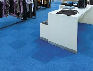 Carpet retail flooring
