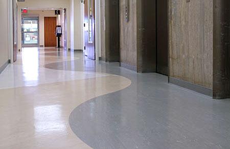 Nice Design For Hospital Flooring